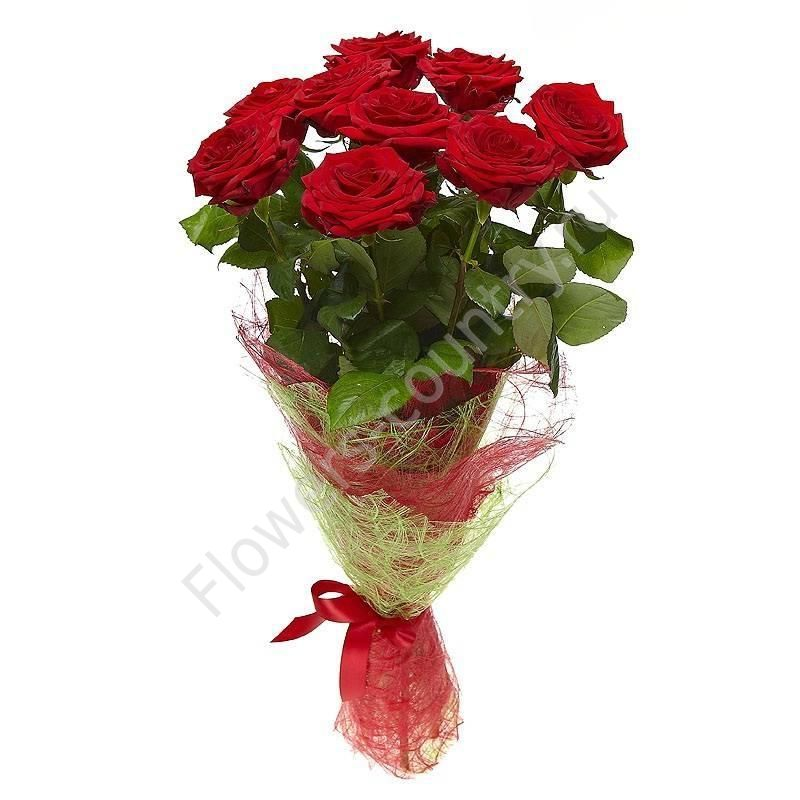 Букет 9 роз