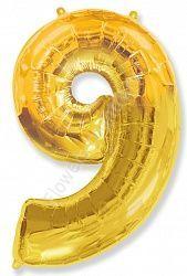 Воздушный шар «Цифра девять»