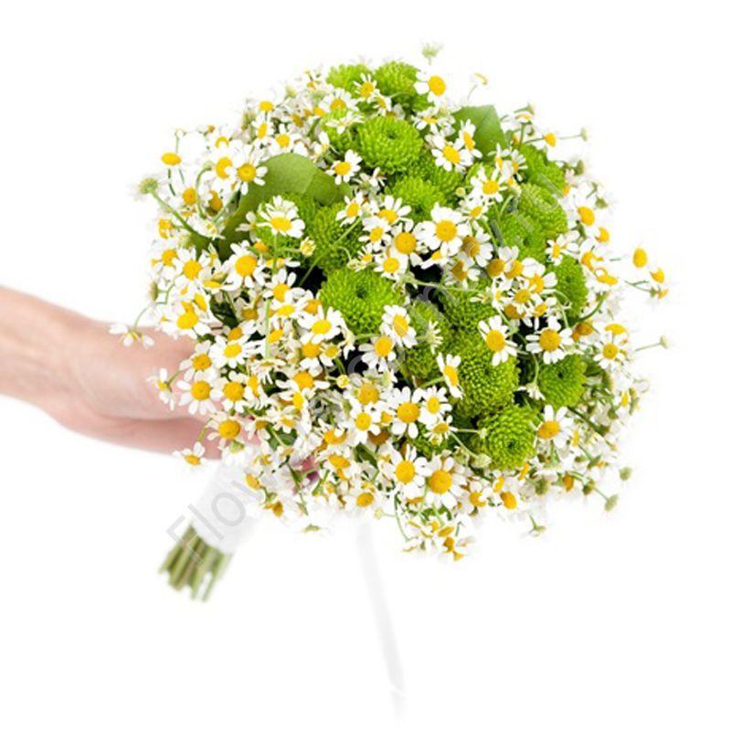 Букет из красивых цветов (полевой)