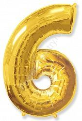 Воздушный шар «Цифра шесть»
