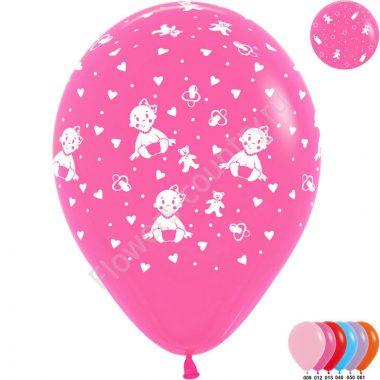 Воздушный шар «С новорожденным»