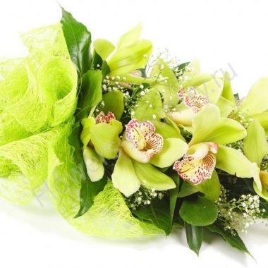 Букет из 9 орхидей