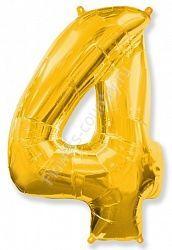 Воздушный шар «Цифра четыре»