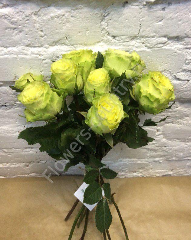 Букет из зеленой розы