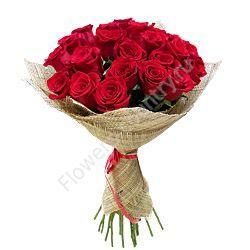 Букет из (красной) розы