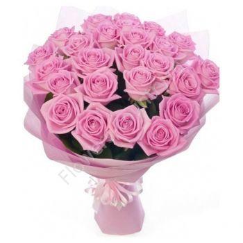 Букет из роз «Розовое настроение»