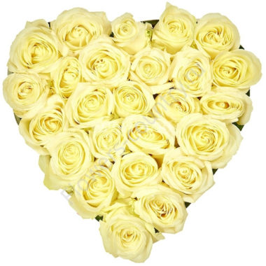 Букет цветов сердце