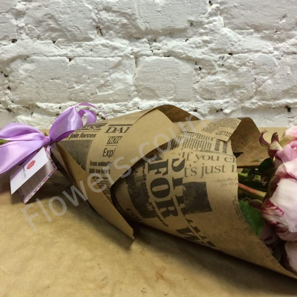 Букет из пионов розовых