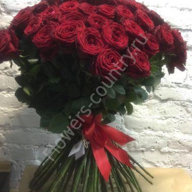 Букет из красных роз — 101 шт.