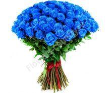 Букет из синей розы