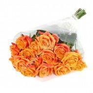 Букет из оранжевых роз