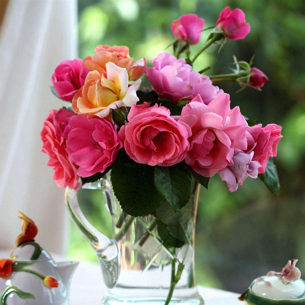 Букеты с цветами