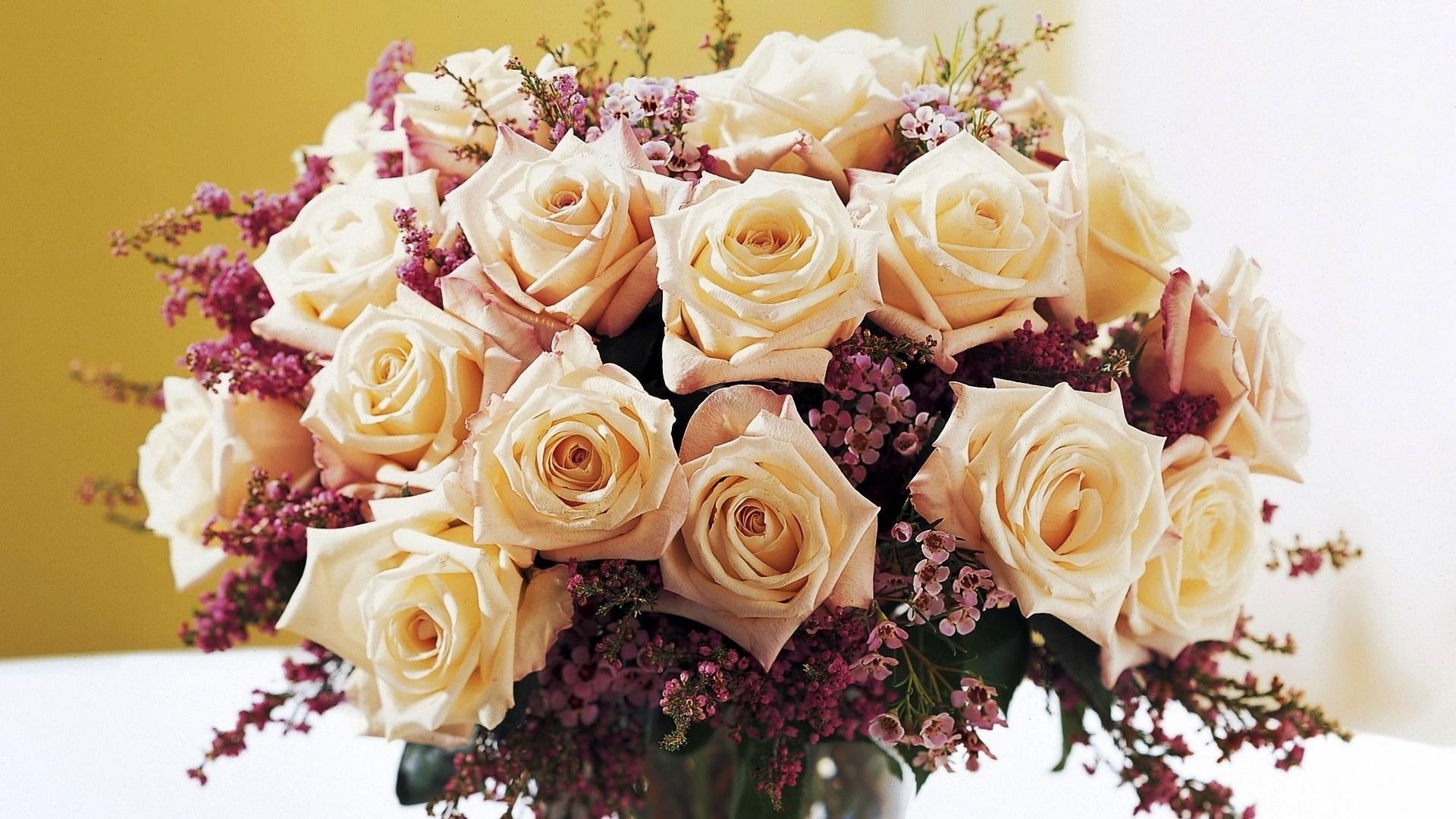 Принцип оформления цветов